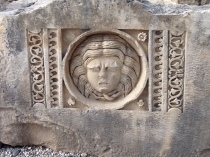 roman theater face
